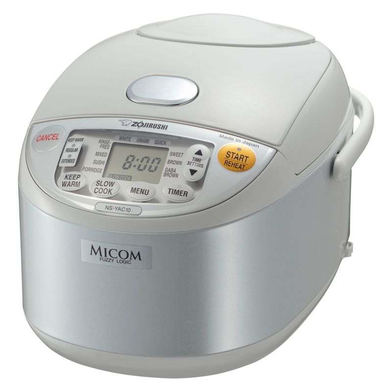 Zojirushi Umami Micom 5.5-Cup Rice Cooker and Warmer, White thumbnail